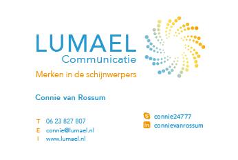 Visitekaartje Lumael